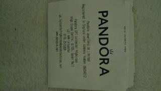 Authentic Pandora Hearts Charm Bracelet 20cm