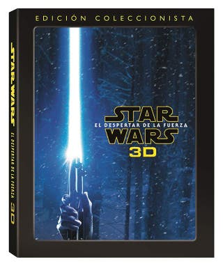 Star Wars VII Bluray 2D + BD 3D + Blu ray Extras