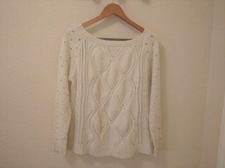 Jersey blanco talla S