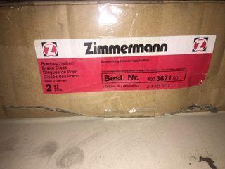 DISCOS DE FRENO ZIMMERMANN