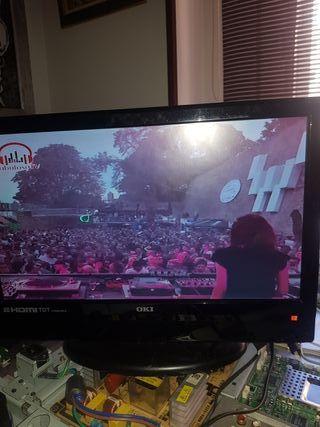tv monitor oki 15 pulgadas