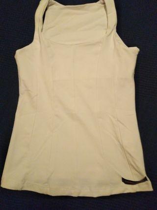 Ropa mujer camisa elástica deporte