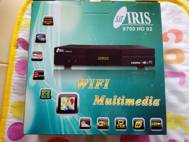 Decodificador Iris 9700 HD 02