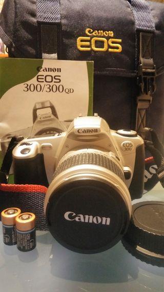 Cámara de fotos Canos EOS 300