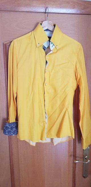 Camisa amarilla de 7 camicie