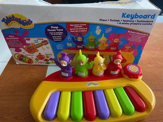 Piano infantil teletubbies