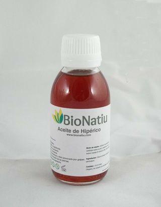 Aceite de Hipérico Artesanal (Botella de 125ml)