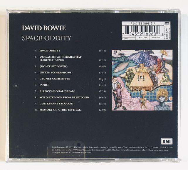 DAVID BOWIE Space Oddity (1969) Disco Cd
