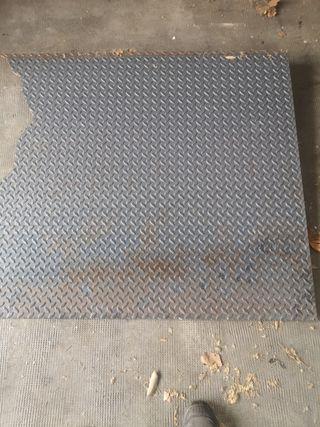 chapa de hierro galvanizado de 2mm
