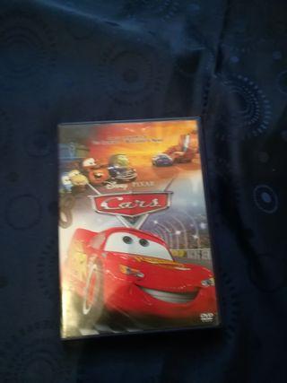 peliculas, dvd cars