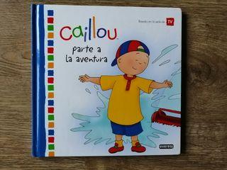 """Libro """"Caillou parte a la aventura"""""""