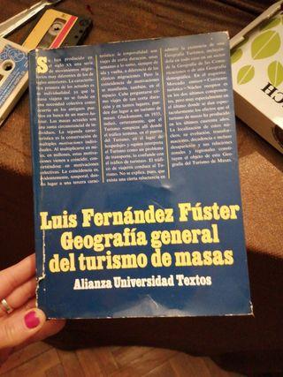 libro Geografía general del turismo Luis fernaz