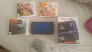 New Nintendo 3ds XL + 3 juegos