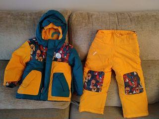 Conjunto Nieve, ropa Esquí de 4 a 6 años