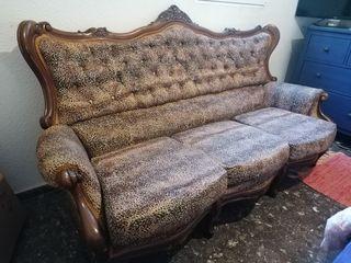 sofá estilo rococo