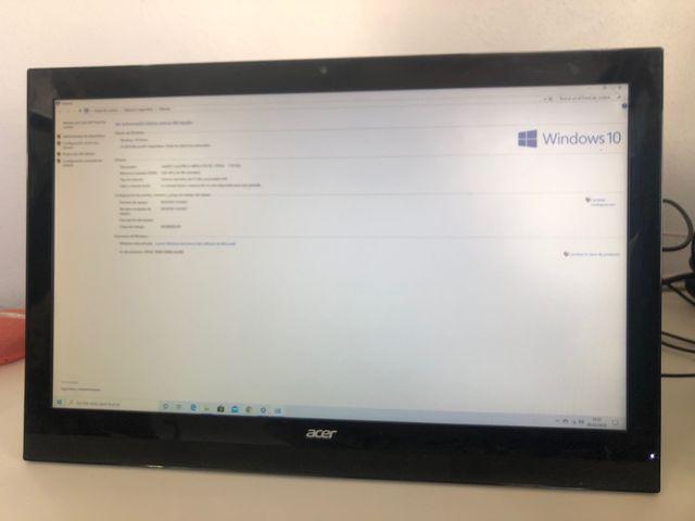 Ordenador todo en uno Acer aspire z1 623