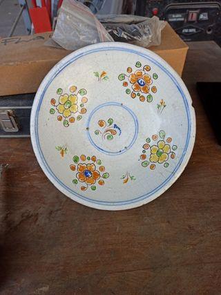 plato cerámica niveiro