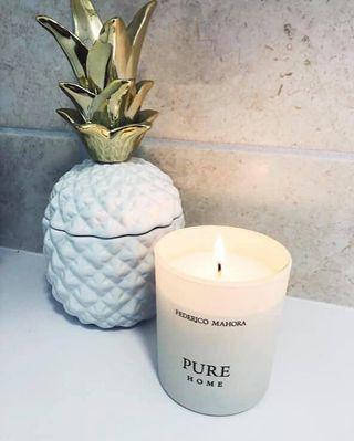 Home ritual fragrance candle