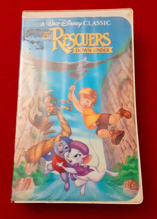 "PELÍCULA EN DVD: ""THE RESCUERS DOWN UNDER """
