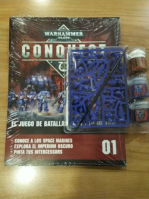 Warhammer Conquest N°1