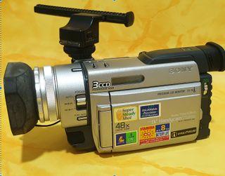 Cámara video sony hd