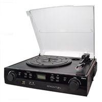 Tocadiscos-Cassette Grabador