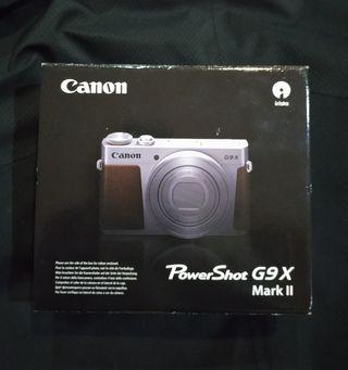 Cámara Canon G9x powershot