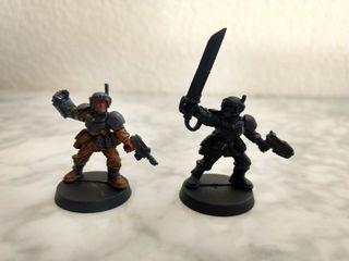Sargentos Guardia Imperial Warhammer 40k