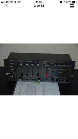 Mesa de mezclas rane mp-24