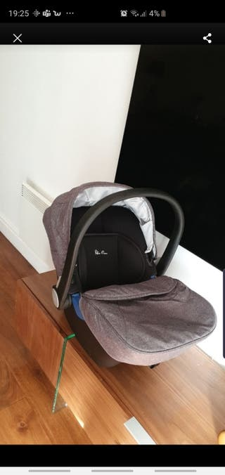 car seat silver cross