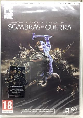 SOMBRAS DE GUERRA PC PRECINTADO