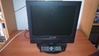 Televisión plana LCD 15 pulgadas