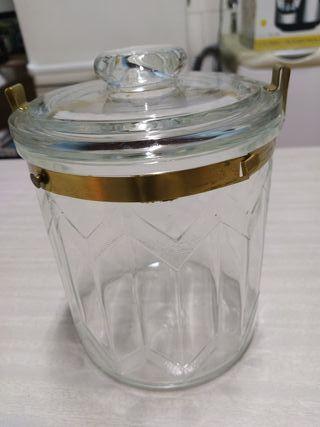 tarro de cristal años 1960