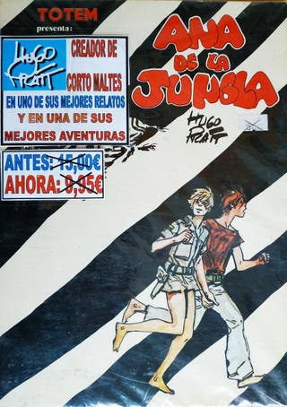 COMICS TEBEOS HUGO PRATT ANA DE LA JUNGLA