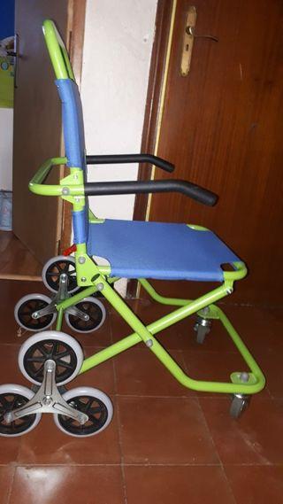 silla de ruedas.especial escaleras