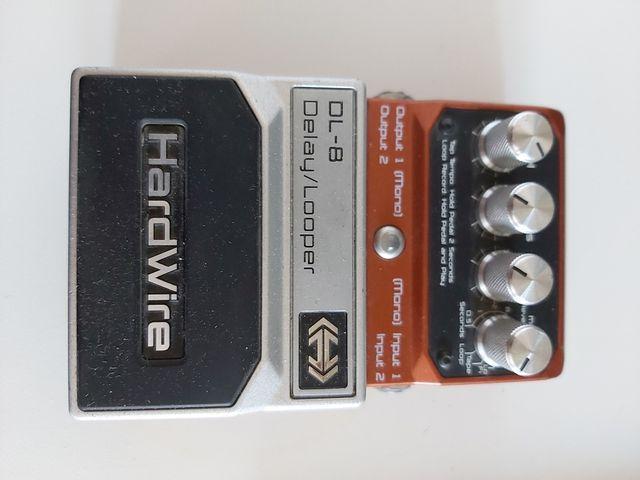 pedal de guitarra digitech delay