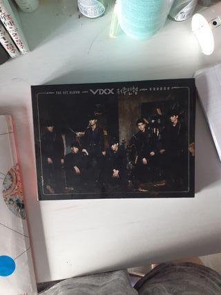 The 1ST album VIXX voodoo (valorado en 62 euros)