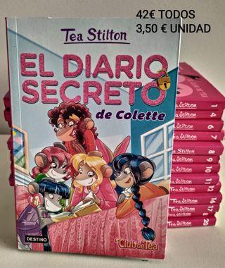 14 libros de TEA STILTON