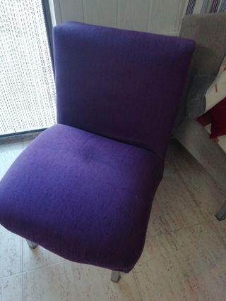 sillón sin brazos