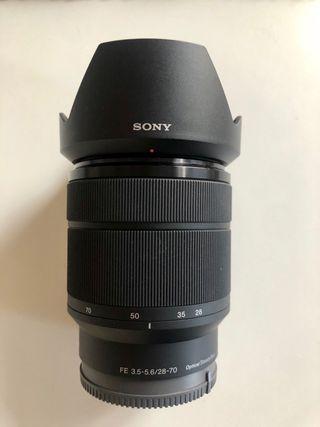 Objetivo Sony 28-70 NUEVO