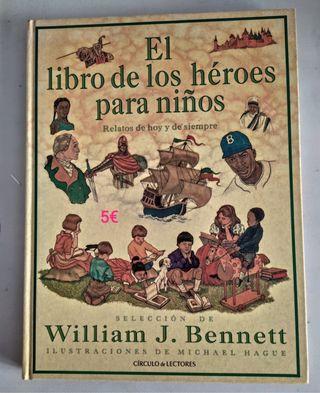 EL LIBRO DE LOS HEROES PARA NIÑOS