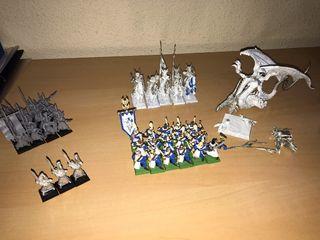 Pack Figuras Altos Elfos (Warhammer)