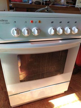 Cocina horno de vitroceramica