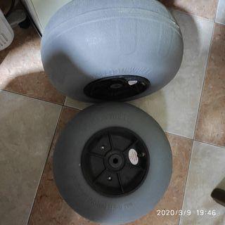 carro latour ruedas globo pesca