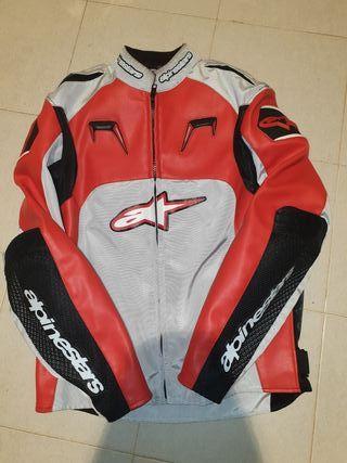 Chaqueta moto Alpinestar roja