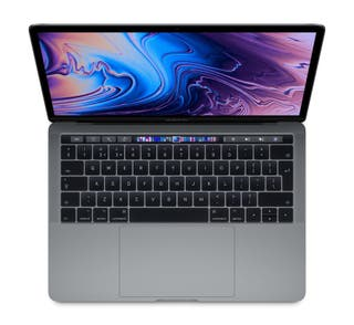 """Apple macbook pro 13"""" touch bar 2019 cambio"""