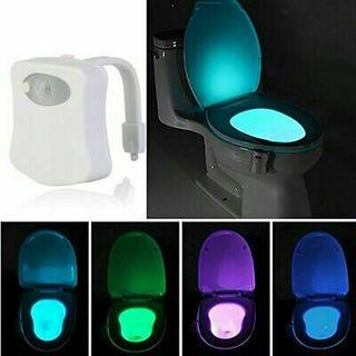Smart Bathroom Toilet Night Light LED