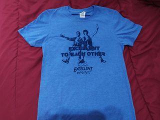 Camiseta Película Bill & Ted NUEVA Talla S