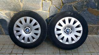 BMW - 4 llantas y 4 neumáticos
