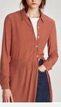 Blusa larga de Zara